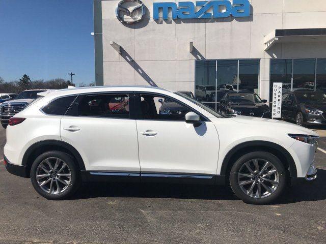 2018 mazda cx 9 signature awd in white pearl and nappa. Black Bedroom Furniture Sets. Home Design Ideas