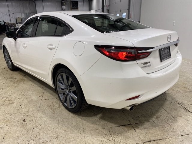 2018 Mazda Mazda6 Grand Touring Automatic In Pearl White With Black Leather  In Cranberry Township,